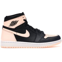 Dusty Pink and Black Tint Air Jordan by Nike