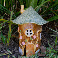 Fairy Frog House Garden Decor