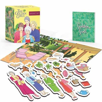 The Golden Girls Mini Magnet Set