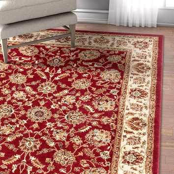 2951 Red Persian Oriental Area Rugs
