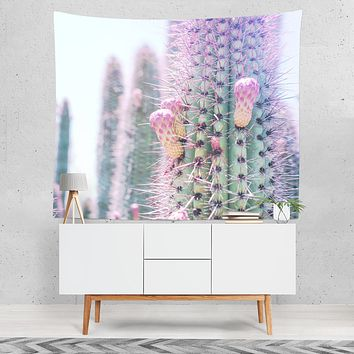 Modern Spiky Cactus Wall Tapestry - 4 Sizes