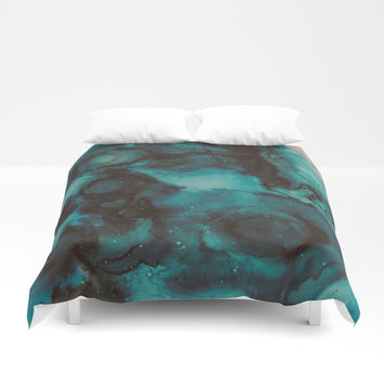 When we met Duvet Cover by duckyb