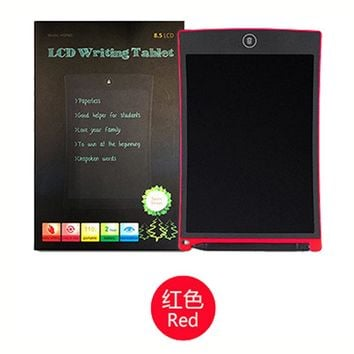 "8.5""LCD Drawing Board Electronic Writing Tablet as Whiteboard Bulletin Memo Children Drawing Toys for Kids Learning Education"