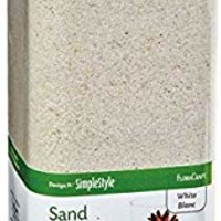 FloraCraft RS24653/6/2 B00LU0G8BE, 27.8 OZ, White with Glitter