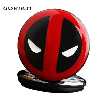 Deadpool Dead pool Taco Fashion Quartz Anime  Pocket Watches Necklace Chain Pendent Cartoon Men Kids Watches Relogio De Bolso AT_70_6