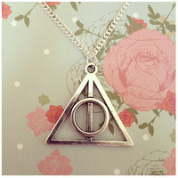 Harry Potter Deathly Hallows Necklace, ideal gift