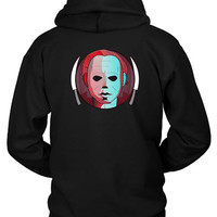 Horror Michael Myers Hoodie Two Sided