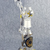 Boro Syndicate x Team Death Star Clear Bubbler