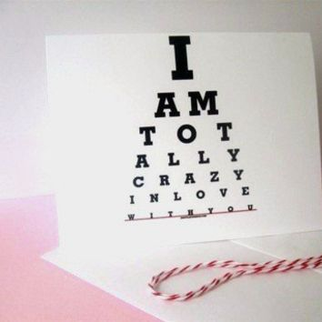 Boyfriend birthday card I love you cardI am Totally by Eyecharts