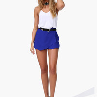 Asymmetrical Wrap Shorts