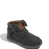 TOMS 'Botas - Tiny' Woven Boot (Baby, Walker & Toddler)