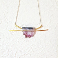 Amethyst Horizon Necklace