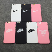 NIKE Popular Print iPhone 6/6s  6plus/ 6s-Plus 7/8 iPhone 7plus/8plus  X  XR   XS XS MAX Phone Cover Case