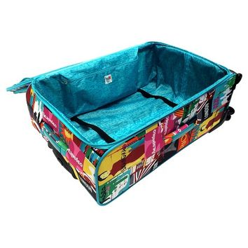 "French Bull 28"" spinner luggage - jet set"