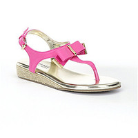 MICHAEL Michael Kors Girls' Perry Crysty Sandals - Fuchsia
