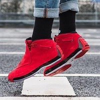 Air Jordan 18 Toro AJ18 Basketball Shoes Retro Sneakers