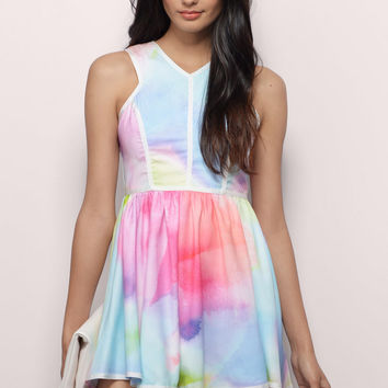 Splash Of Color Dress