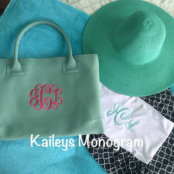 Monogrammed Bathing Suit Cover Up Black and White Starburst Beach Pool Kaileysmonogram Cruise Summer Preppy