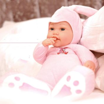ZIZI FISH Stuffed Baby Born Doll Toys For Children Silicone Reborn Alive Babies Lifelike Kids Toys Sleep Reborn Doll For Kid Toy
