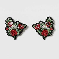 Floral Fabric Collar Tips - New In