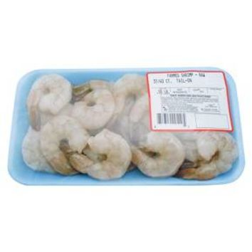 31/40 P&D Tail-On Raw Shrimp 8 oz
