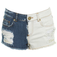 Mix Match Short - Jeans & Denim  - Clothing  - Miss Selfridge