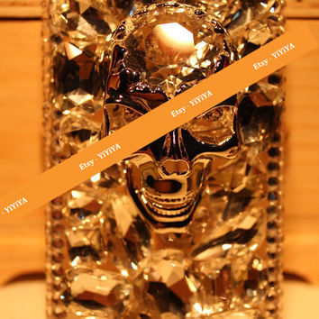 iPhone Case, iPhone 4 Case , iPhone 4s Case , iPhone5 Case,3D Bling Bling Luxury Crystal SKULL and CrossBones Handmade Phone Case Cover
