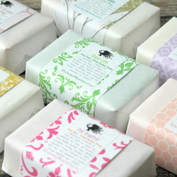 Any 10 Large Bars . Shea Butter Soap Sampler . Birthday Gift / Bridesmaid Gifts / Stocking Stuffers / CoWorker Gifts