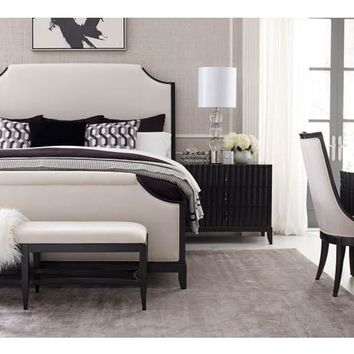 5640 Symphony - Complete Upholstered Bed - King