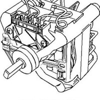 Whirlpool Part Number 389248: Motor, Main Drive
