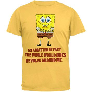 Spongebob Squarepants - Around Me Soft T-Shirt
