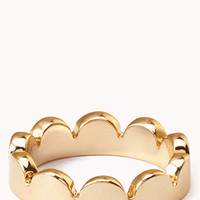 Dainty Scalloped Ring | FOREVER 21 - 1076189322