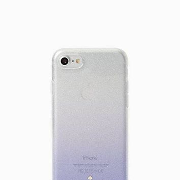 clear glitter ombre iphone 7 case