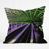 Amy Smith DC Metro Throw Pillow