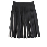J.Crew Womens Stitched Sunburst Skirt In Stripe