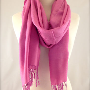Pretty In Pink Pashmina