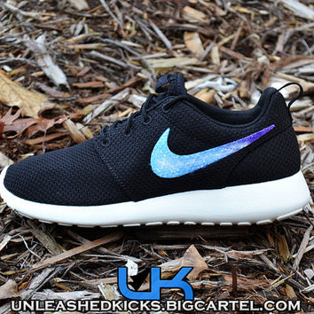Custom Nike Galaxy Swoosh Roshe Run