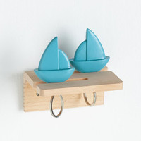 Nautical Under Dock and Key Holder by Kikkerland from ModCloth