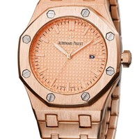 G AP Audemars Piguet Fashion Men Watch L-PS-XSDZBSH ROSE GOLD