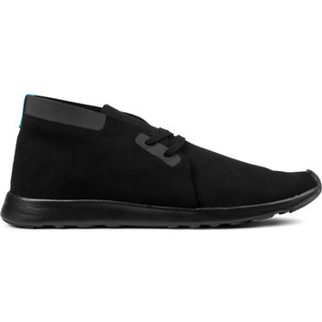 Native Jiffy Black Solid Apollo Chukka Shoes | HYPEBEAST Store.