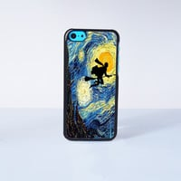 Harry Potter Stary Night  Plastic Case Cover for Apple iPhone 5C 6 Plus 6 5S 5 4 4s