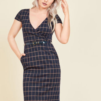 For Good Lecture Sheath Dress | Mod Retro Vintage Dresses | ModCloth.com