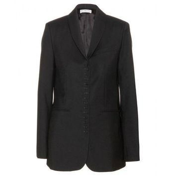 ONETOW balenciaga wool and mohair blend blazer 2