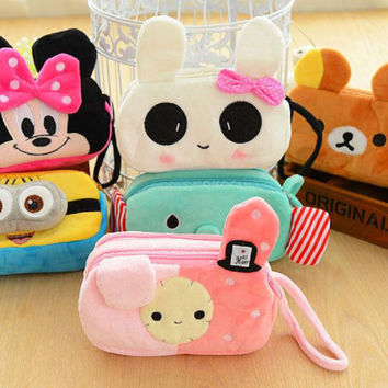 pencil case lapices plush pencilcase estuches school supplies estojo escolar menina cute etui totoro kawaii astuccio scuola