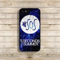 SOS phone case SOS iphone case 5 seconds of summer for iphone 4/4s iphone 5/5s galaxy s3 galaxy s4