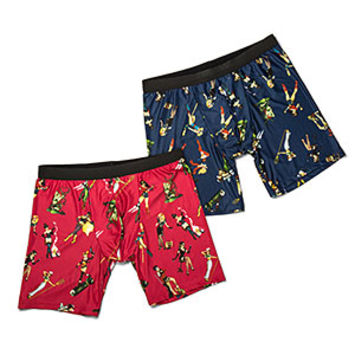 DC Bombshells 2-Pack Boxer Briefs - Exclusive