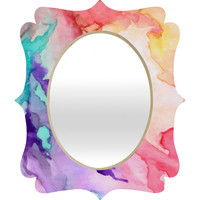 DENY Designs Rosie Brown Color My World Quatrefoil Mirror