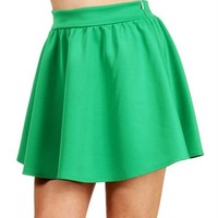 Pre-Order: Green Circle Skirt