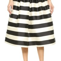Tibi Pleated Full Skirt