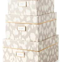 kate spade new york storage nesting boxes (set of 3) | Nordstrom